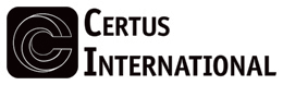 Certus International Black and White Logo only shown on printed page